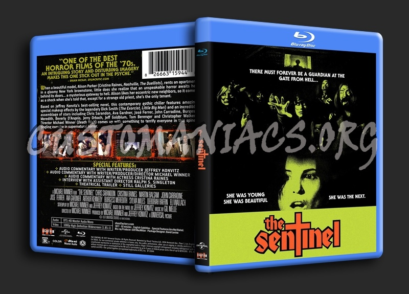 The Sentinel blu-ray cover