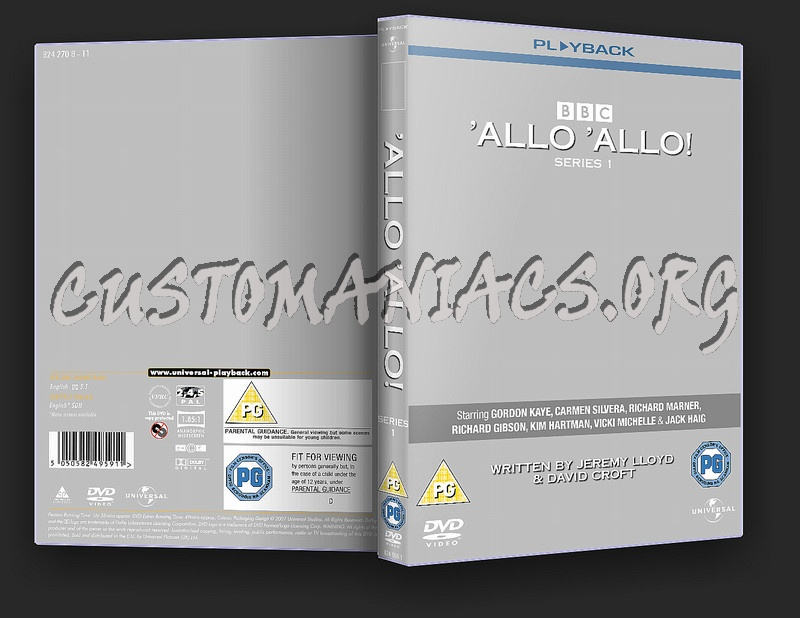 Classic BBC Comedies dvd label