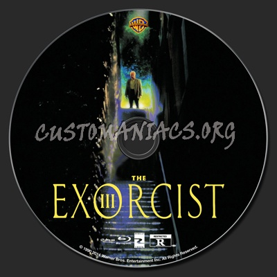 The Exorcist III blu-ray label