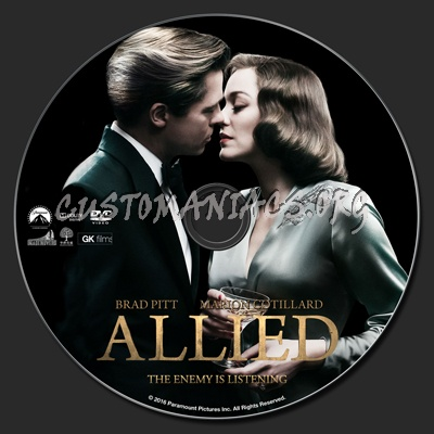 Allied dvd label