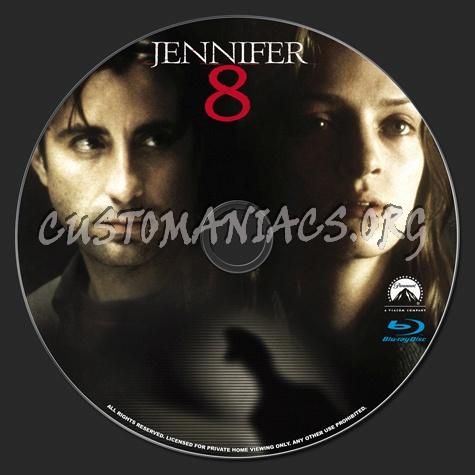 Jennifer 8 blu-ray label