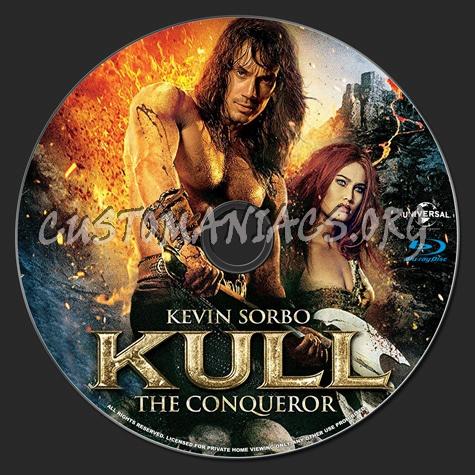 Kull the Conqueror blu-ray label