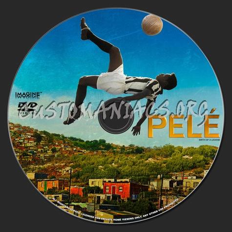 Pele Birth of a Legend dvd label