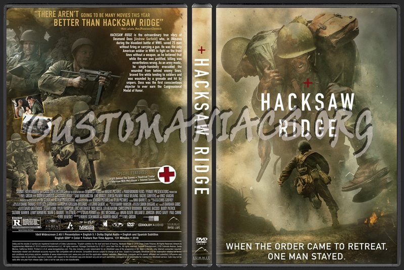 Dvd Covers Labels By Customaniacs View Single Post Hacksaw Ridge
