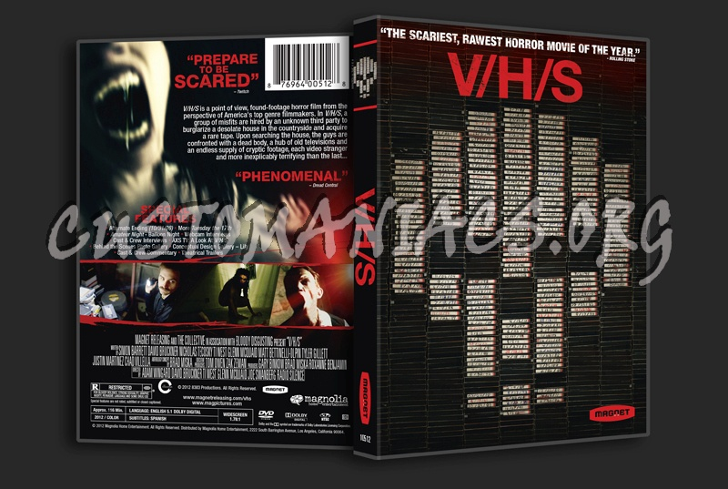 Vhs dvd cover
