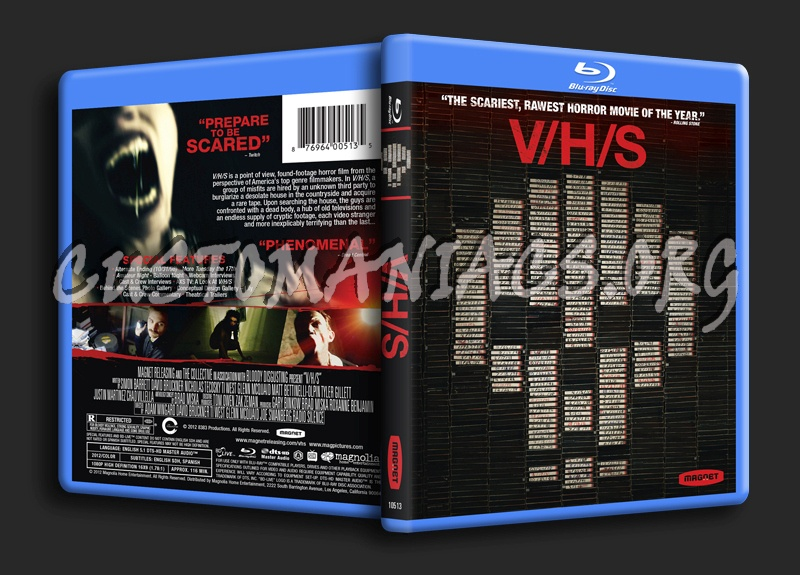Vhs blu-ray cover