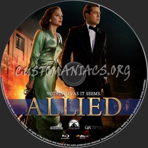 Allied blu-ray label