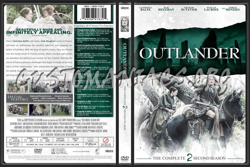 Outlander Season 2 dvd cover