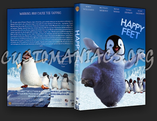 Happy Feet dvd cover