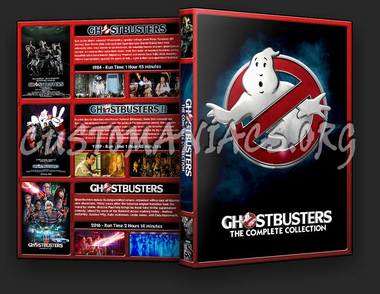 The Ghostbusters Collection dvd cover