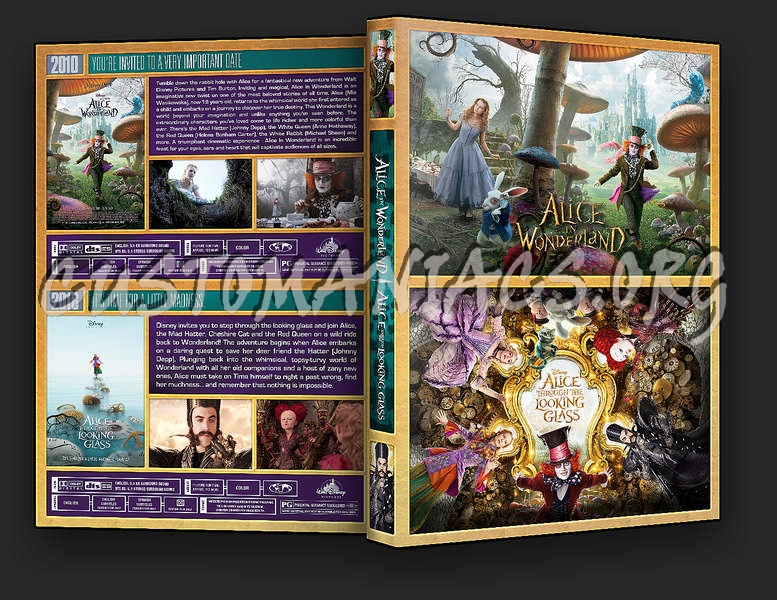 The Alice in Wonderland Collection dvd cover