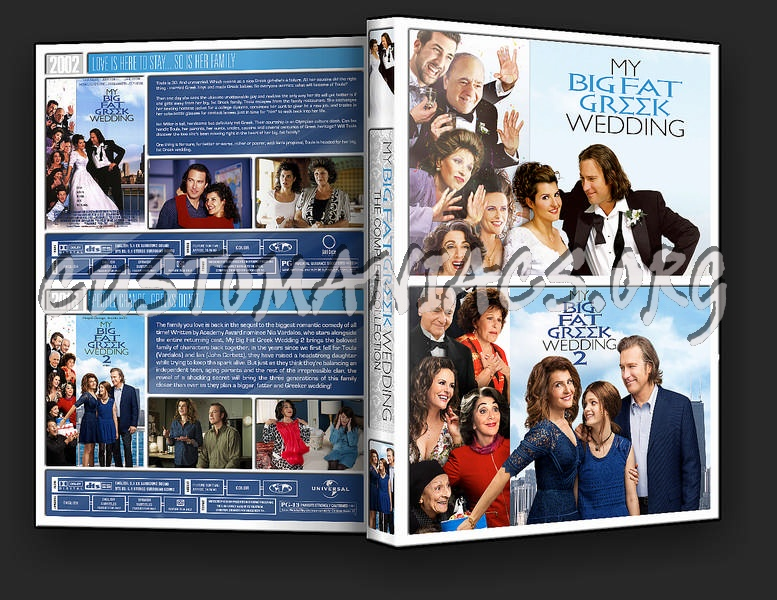 My Big Fat Greek Wedding Collection dvd cover