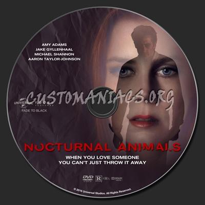 Nocturnal Animals dvd label