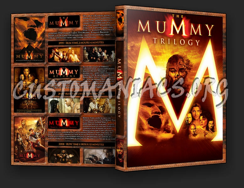 The Mummy Collection dvd cover