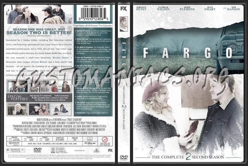 Fargo Season 2 dvd cover