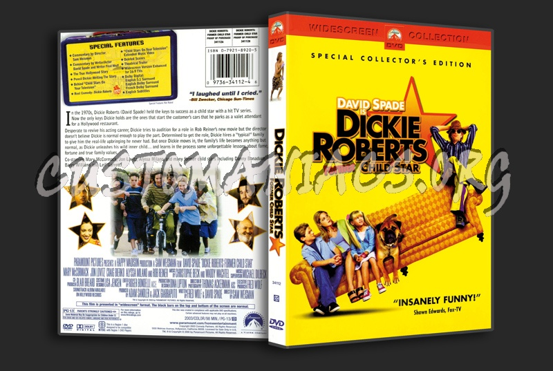 Dickie Roberts Fomer Child Star dvd cover