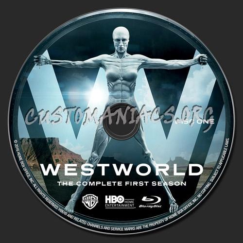 Westworld Season 1 blu-ray label