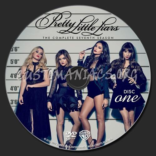 Pretty Little Liars - Season 7 dvd label - DVD Covers