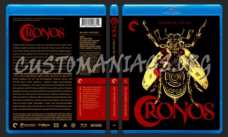 551 - Cronos blu-ray cover