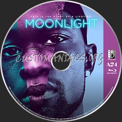 Moonlight blu-ray label