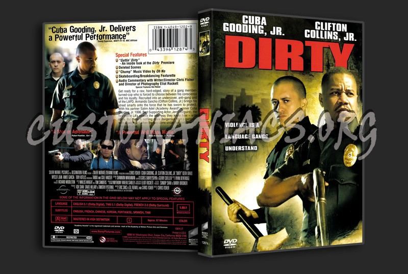 Dirty dvd cover