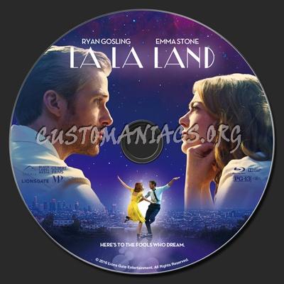 La la land blu ray label dvd covers labels by customaniacs id 243489 free download highres - La la land download ...