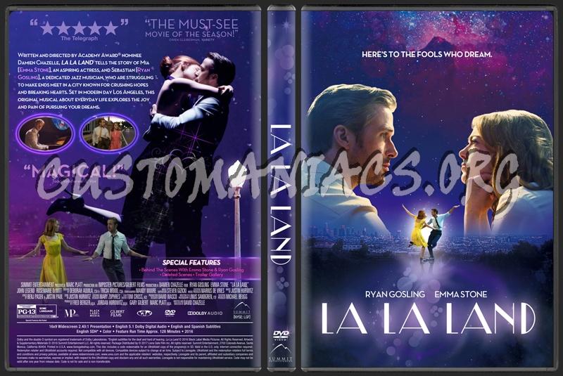 La la land dvd cover dvd covers labels by customaniacs id 243494 free download highres dvd - La la land download ...