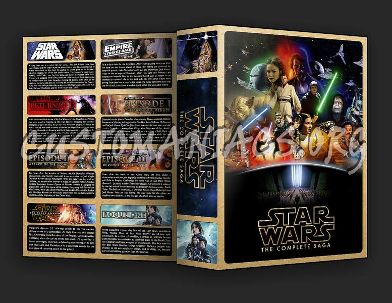 The Star Wars Collection dvd cover