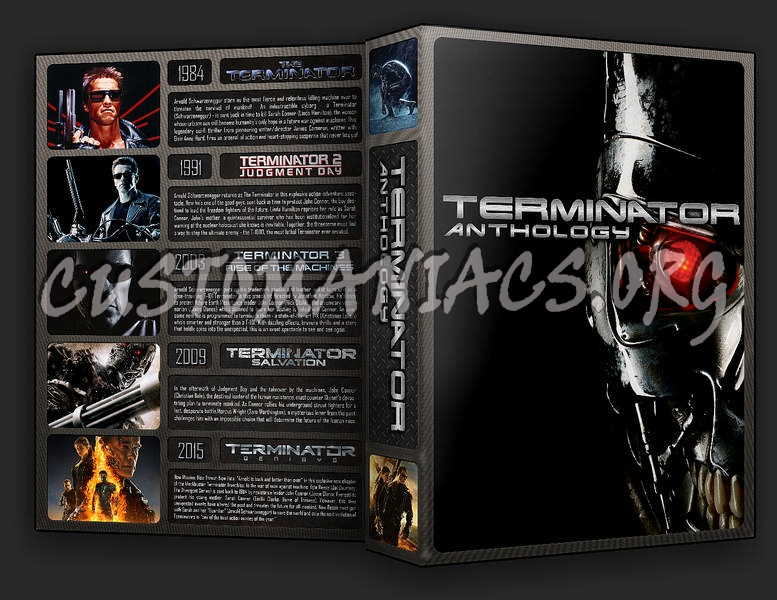 The Terminator Collection dvd cover