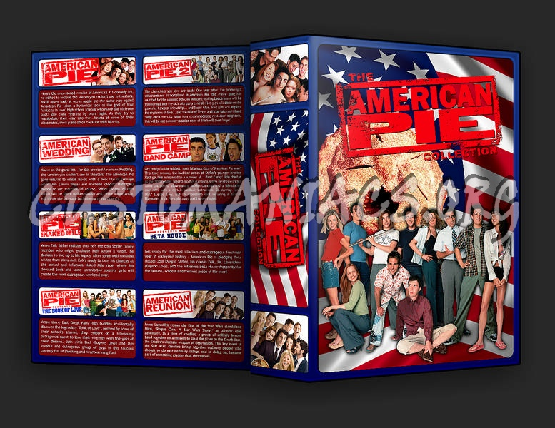 The American Pie Collection dvd cover