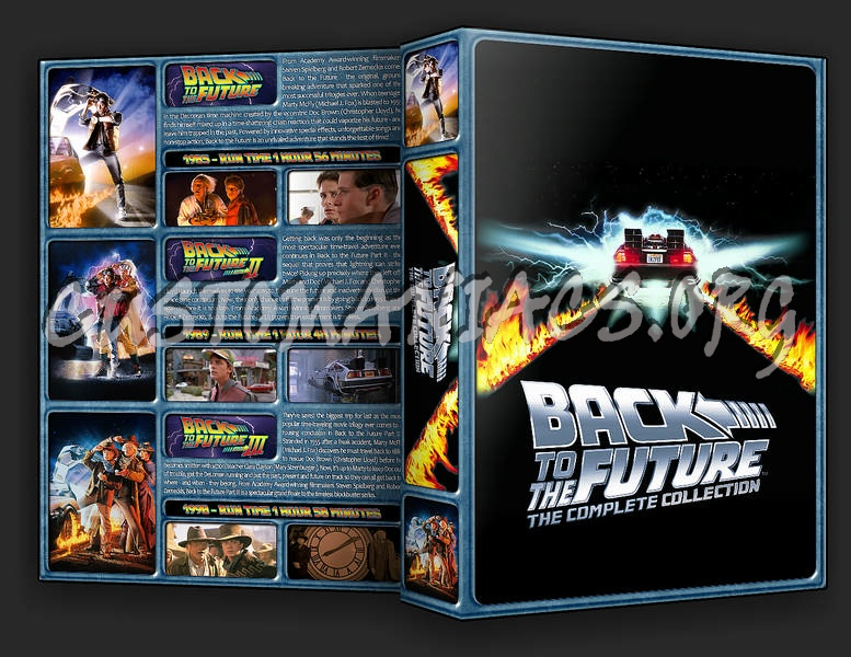 The Back to the Future Collection dvd cover