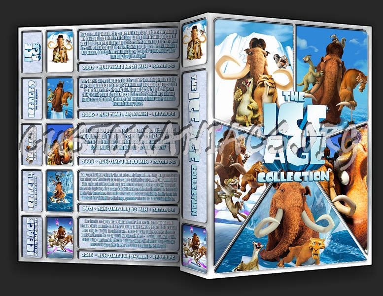 The Ice Age Collection dvd cover