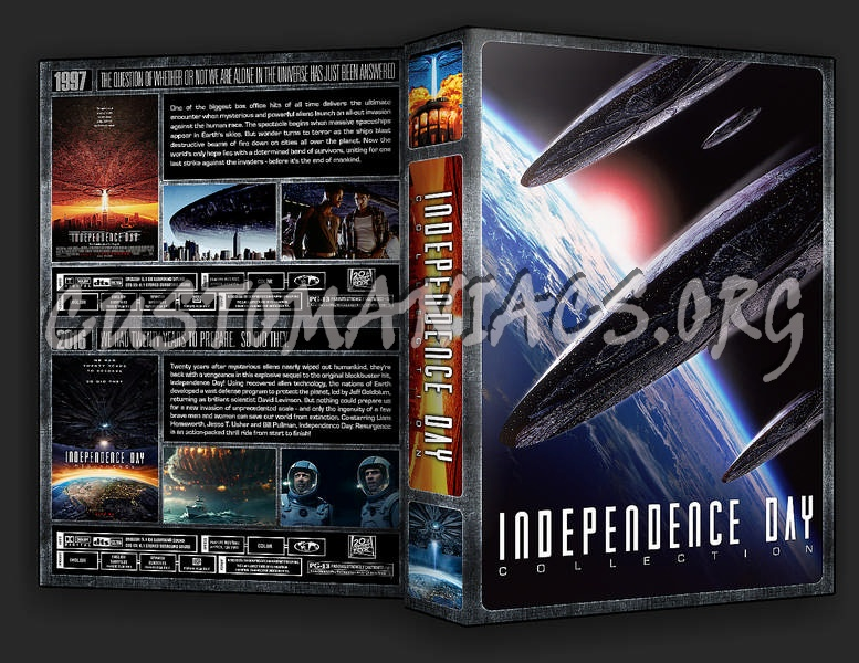 The Independence Day Collection dvd cover