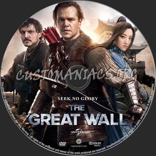The Great Wall dvd label - DVD Covers & Labels by Customaniacs, id ...