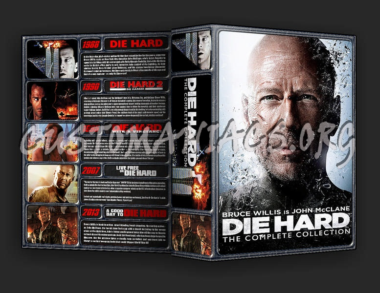 The Die Hard Collection dvd cover