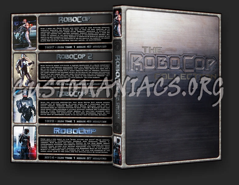 The Robocop Collection dvd cover