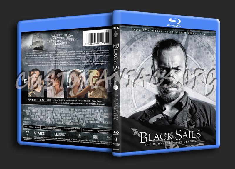 Black Sails (Season 1) blu-ray cover