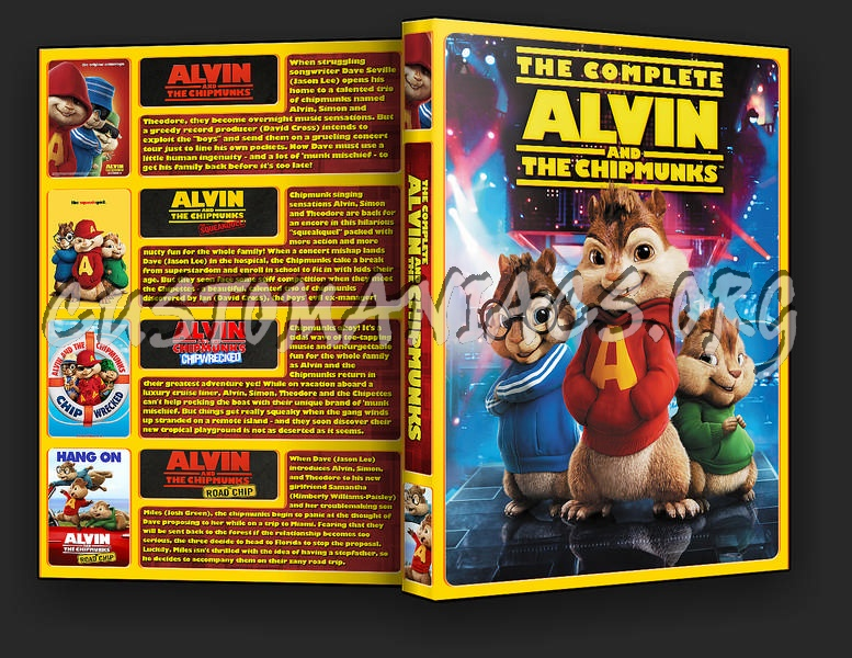 Alvin and the Chipmunks Collection dvd cover