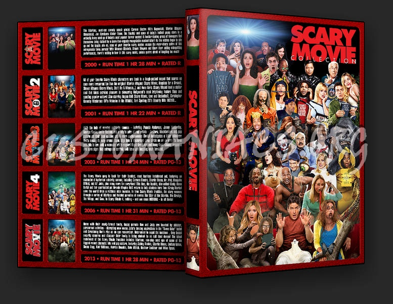 The Scary Movie Collection dvd cover