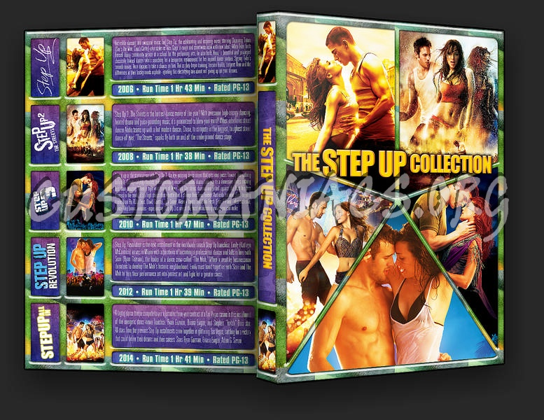 The Step Up Collection dvd cover