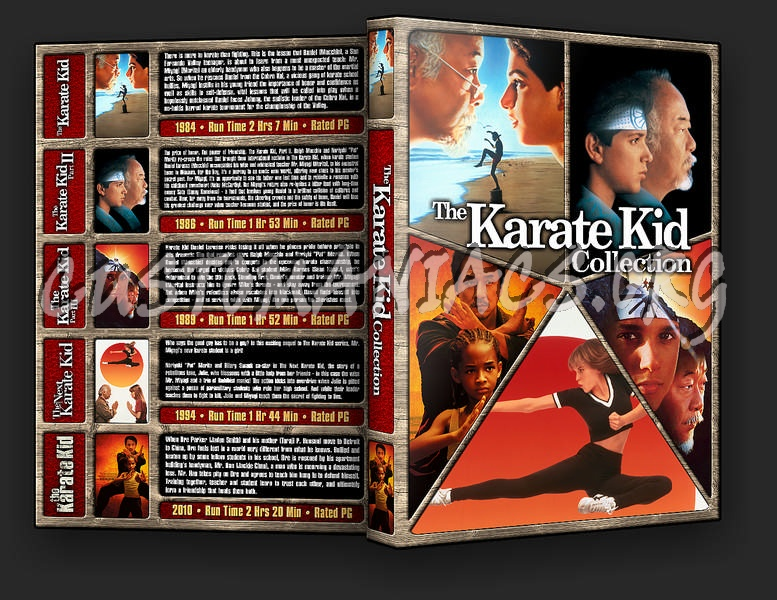 The Karate Kid Collection dvd cover