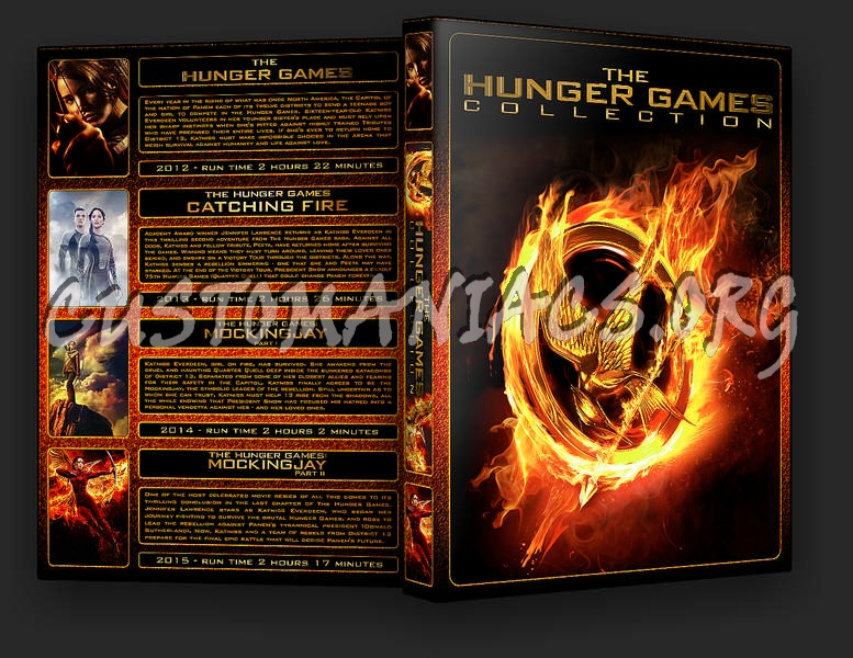 The Hunger Games Collection dvd cover