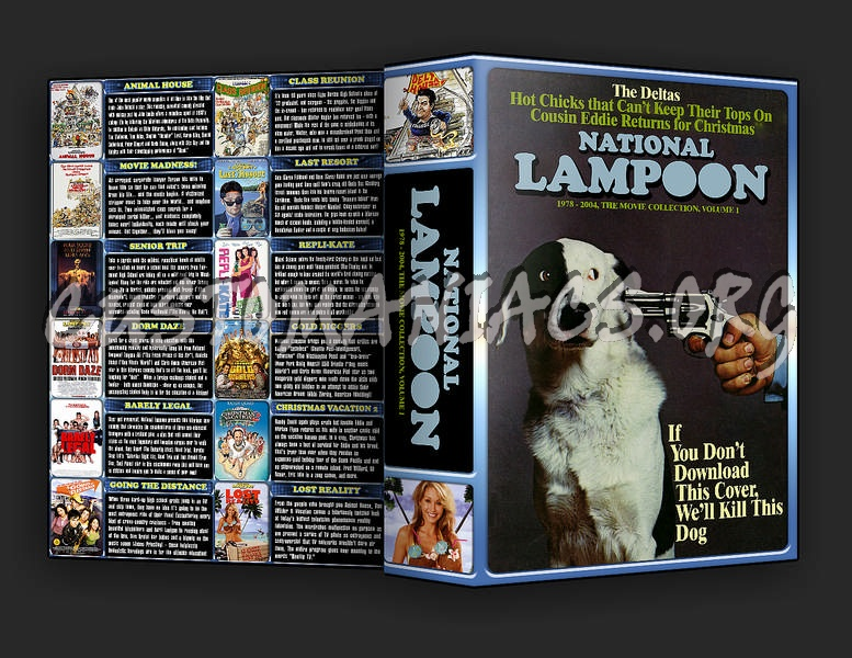 The National Lampoon Collection Volume 1 dvd cover