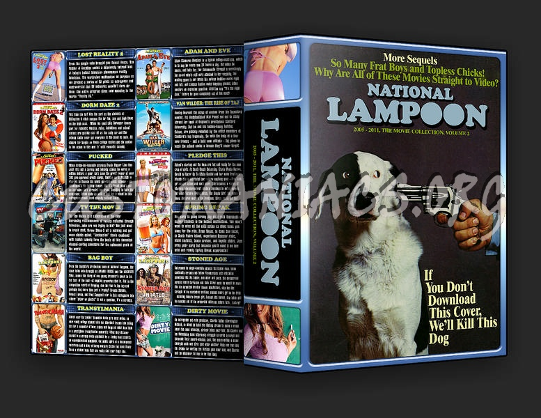 The National Lampoon Collection Volume 2 dvd cover