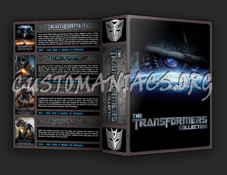 The Transformers Collection dvd cover