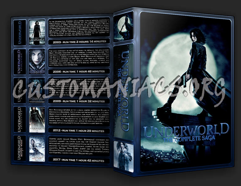 The Underworld Collection dvd cover