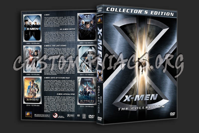 X Men Dvd Cover: X-Men: The Collection Dvd Cover