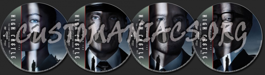 The Man In The High Castle Season 2 dvd label