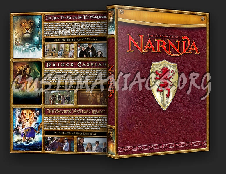 The Chronicles of Narnia Collection dvd cover