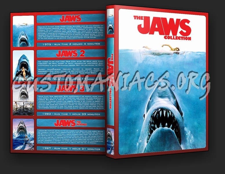 The Jaws Collection dvd cover